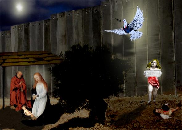 Die Mauer in Bethlehem