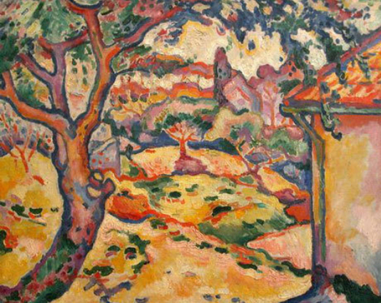 Le vieux olivier G.Braque