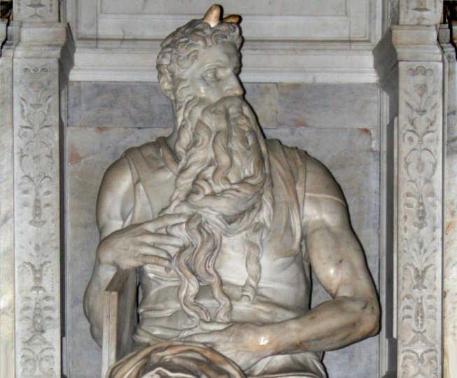 Religionen - Michealangelos Moses